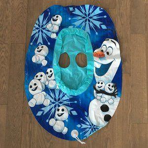 Disney Frozen Olaf Inflatable Kids Float Baby Boat